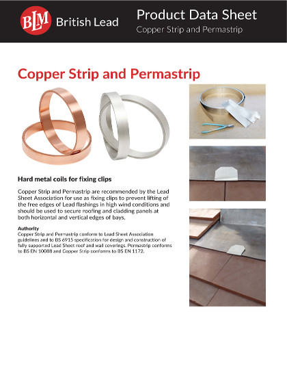 Copper Strip and Permastrip