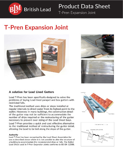 T-Pren Expansion Joint