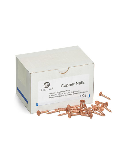 Lead Fixings Copper Nails